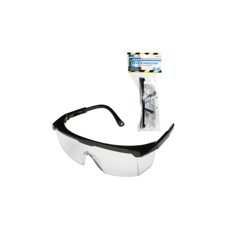 Gafas Proteccion En166 Patillas Ajustables Neutras