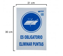 Cartel Obligatorio Eliminar...