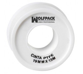 Cinta PTFE Wolfpack 19 mm....