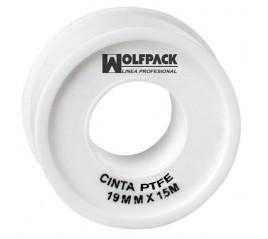 Cinta PTFE Wolfpack 19 mm....