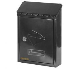 Buzón Maurer Exterior 21x30x6,8 cm. Negro