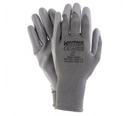 Guante Nitrilo/Nylon Glovex...