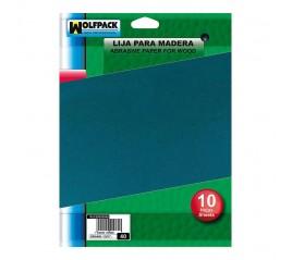 Lija Madera Grano 100 (Pack...