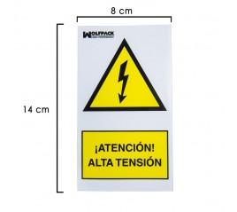 Cartel Adhesivo Alta...