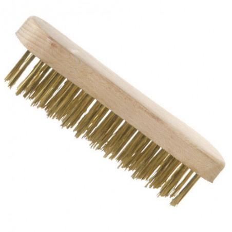 Cepillo Manual acero latonado Fundicion
