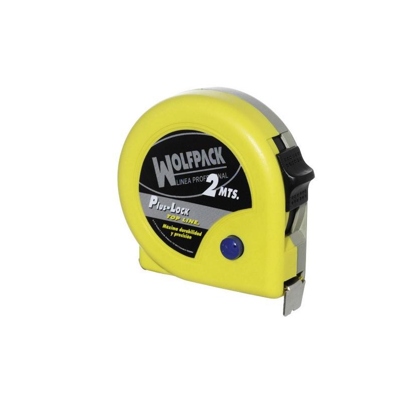 Flexometro Magnético Amarillo Con Freno  3 Metros / 16 mm.