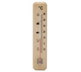 Termometro Oryx Madera 20 cm.