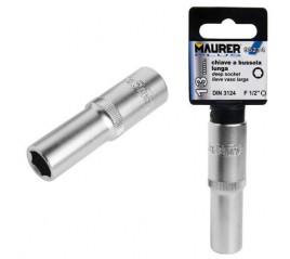 Llave Vaso Maurer 1/2 Hexagonal Larga 10mm.