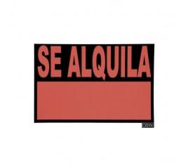 Cartel Se Alquila  50x35 cm.