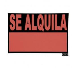 Cartel Se Alquila  70x50...