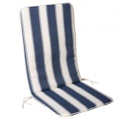 Cojin Azul / Blanco Silla...