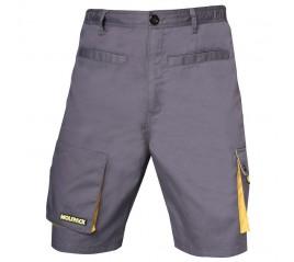 Pantalon Gris/Amarillo Corto Varias Tallas