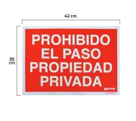 Cartel Prohibido El Paso...