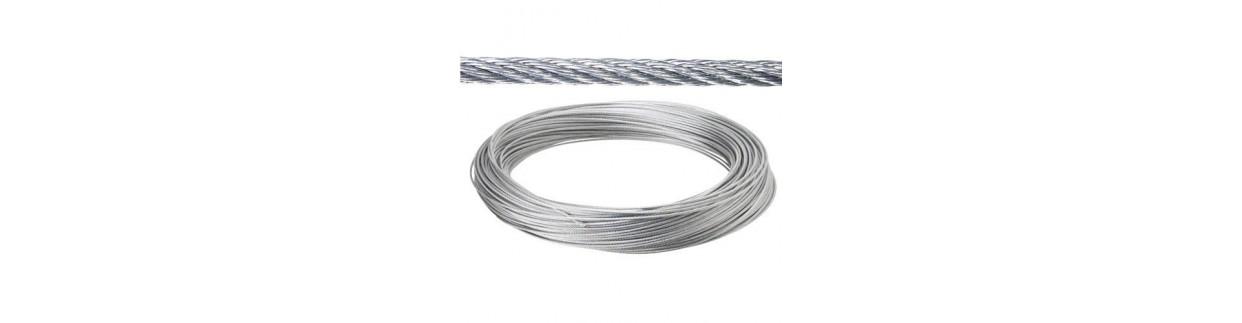 Todo tipo de Cable de acero al mejor precio de todo internet